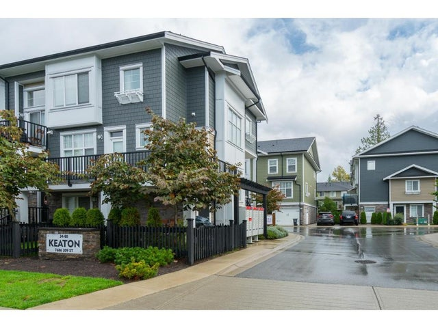 73 7686 209 STREET - Willoughby Heights Townhouse for sale, 3 Bedrooms (R2406347) #1