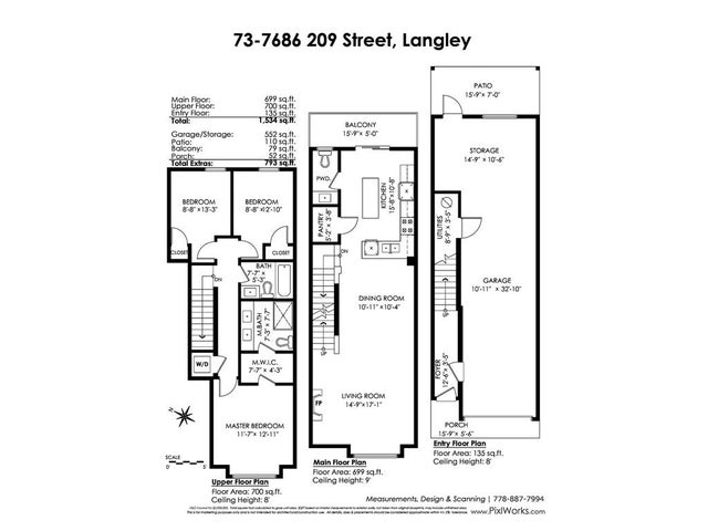 73 7686 209 STREET - Willoughby Heights Townhouse for sale, 3 Bedrooms (R2406347) #20