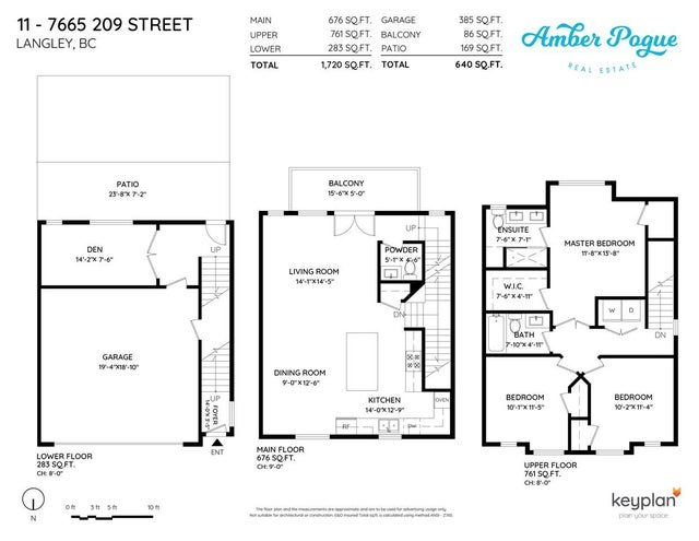 11 7665 209 STREET - Willoughby Heights Townhouse for sale, 3 Bedrooms (R2484322) #37