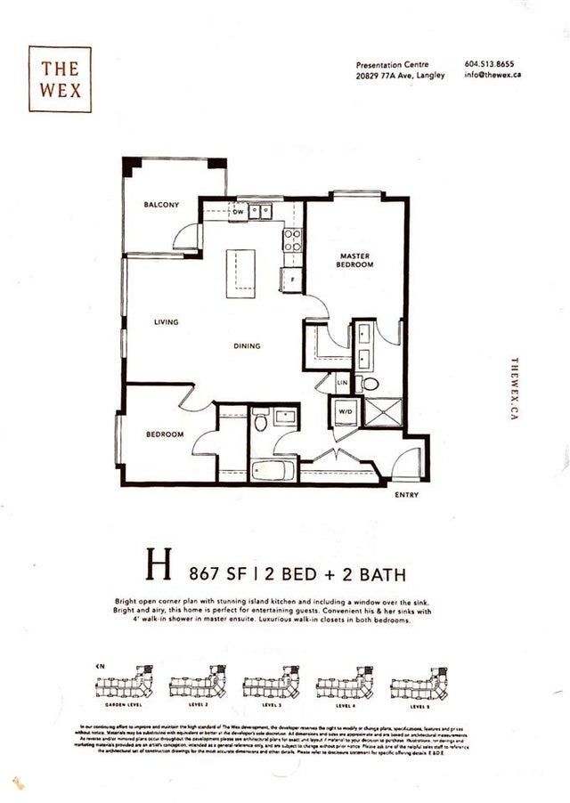 316 20829 77A AVENUE - Willoughby Heights Apartment/Condo for sale, 2 Bedrooms (R2557461) #19