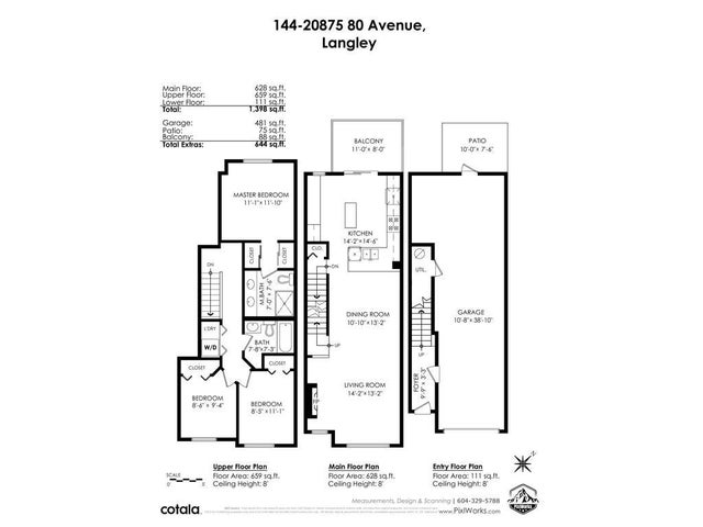 144 20875 80 AVENUE - Willoughby Heights Townhouse for sale, 3 Bedrooms (R2572566) #36