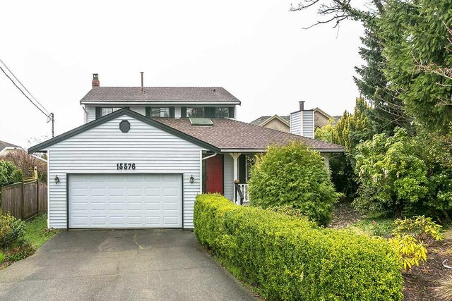 15576 BUENA VISTA AVENUE - White Rock House/Single Family for sale, 3 Bedrooms (R2191164)