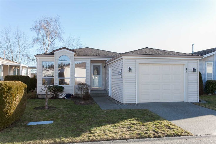 16 2345 CRANLEY DRIVE - King George Corridor Manufactured with Land for sale, 2 Bedrooms (R2135643)