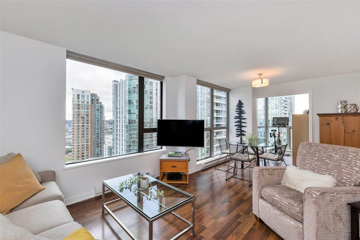 2005 1295 RICHARDS STREET - Downtown VW Apartment/Condo for sale, 1 Bedroom (R2519893)
