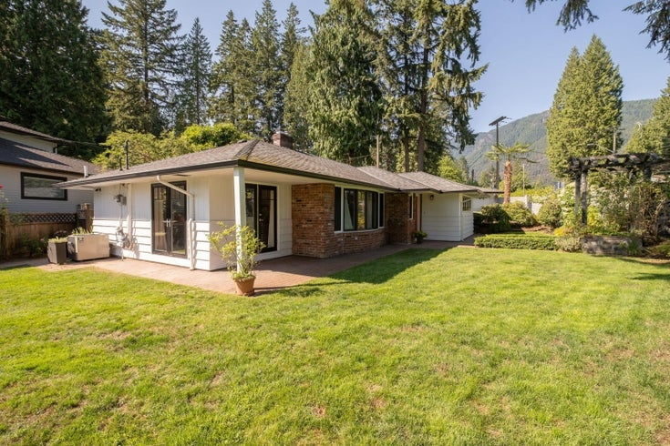 4465 CAPILANO ROAD - Canyon Heights NV House/Single Family for sale, 3 Bedrooms (R2616889)