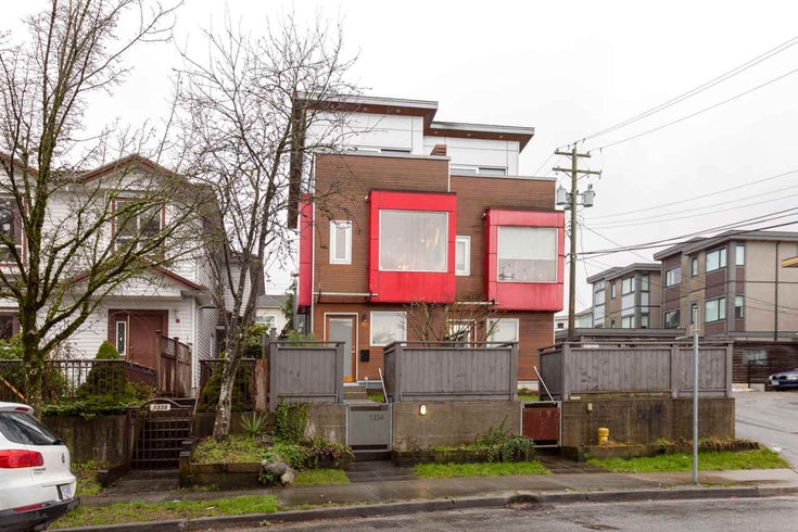 1334 E 7TH AVENUE - Grandview Woodland 1/2 Duplex for sale, 4 Bedrooms (R2236694)