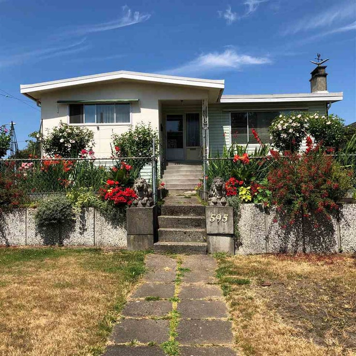 595 W 65TH AVENUE - Marpole House/Single Family for sale, 4 Bedrooms (R2293760)