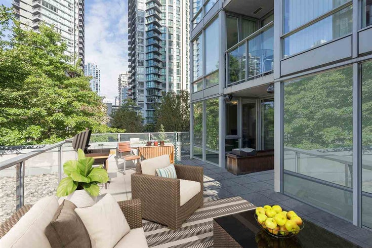 308 1495 RICHARDS STREET - Yaletown Apartment/Condo for sale, 1 Bedroom (R2318777)