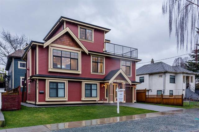 2149 FERNDALE STREET - Hastings House/Single Family for sale, 6 Bedrooms (R2231883)