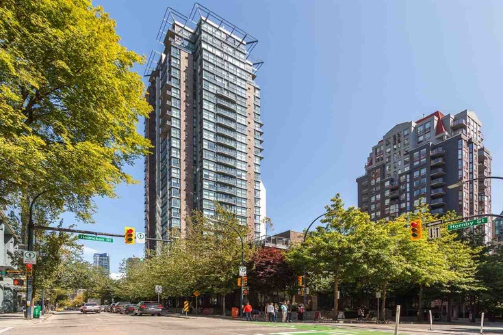 102 1068 HORNBY STREET - Downtown VW Townhouse for sale, 2 Bedrooms (R2200490)