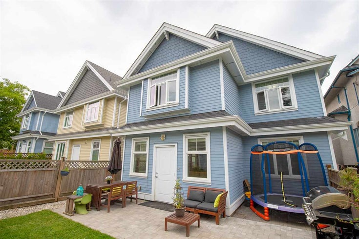 1180 E 12 AVENUE - Mount Pleasant VE 1/2 Duplex for sale, 3 Bedrooms (R2270313)