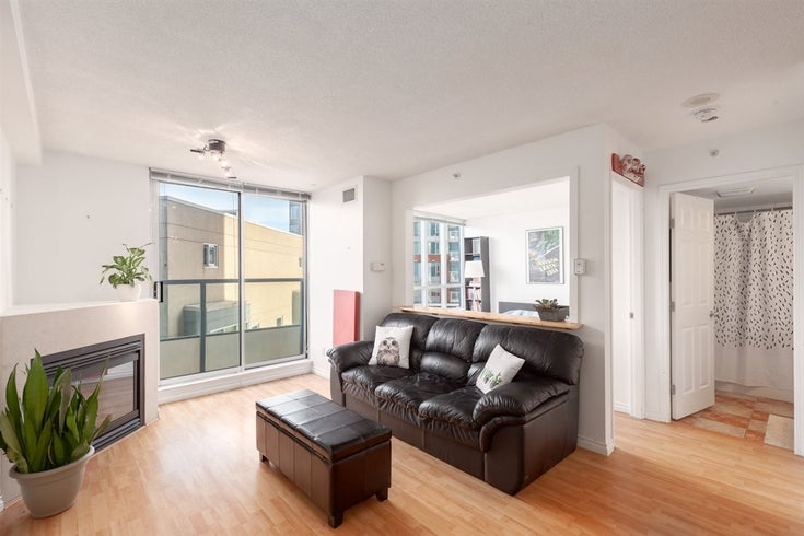 606 63 KEEFER PLACE - Downtown VW Apartment/Condo for sale, 1 Bedroom (R2370240)