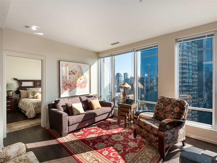 1202 989 NELSON STREET - Downtown VW Apartment/Condo for sale, 1 Bedroom (R2410548)