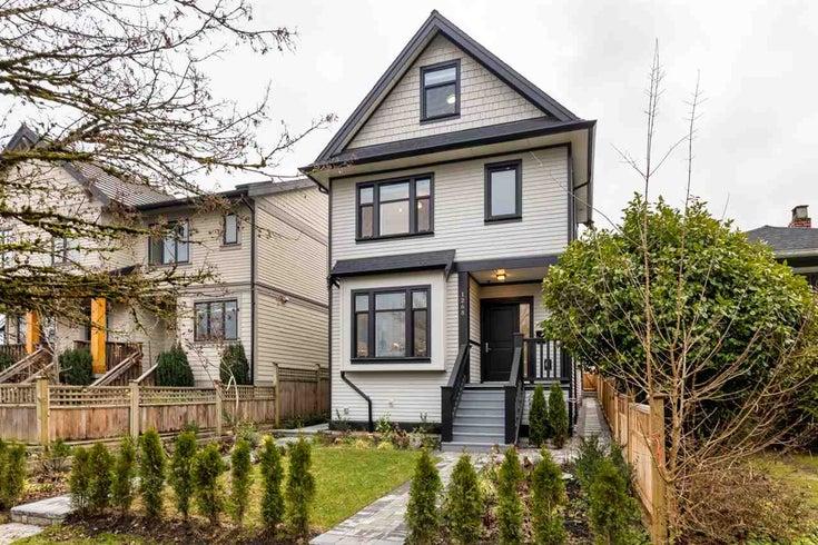 1268 E 16TH AVENUE - Knight 1/2 Duplex for sale, 3 Bedrooms (R2424149)