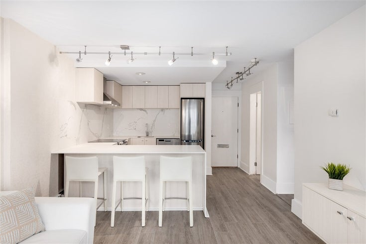 302 1251 CARDERO STREET - West End VW Apartment/Condo for sale, 1 Bedroom (R2442932)