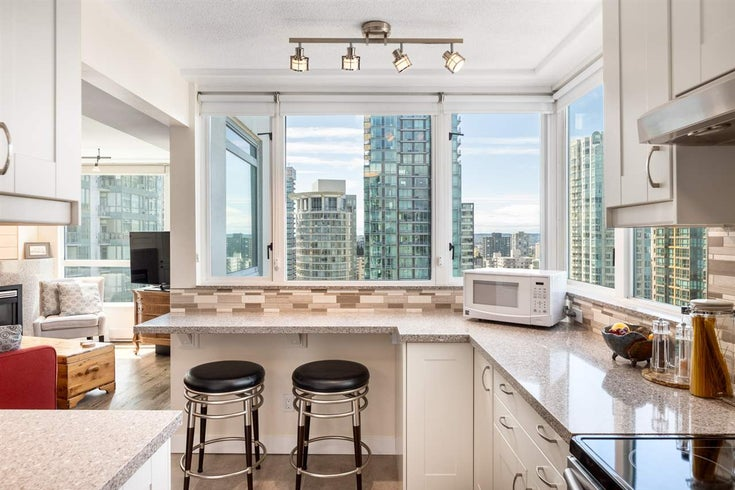 2601 1238 MELVILLE STREET - Coal Harbour Apartment/Condo for sale, 3 Bedrooms (R2458312)