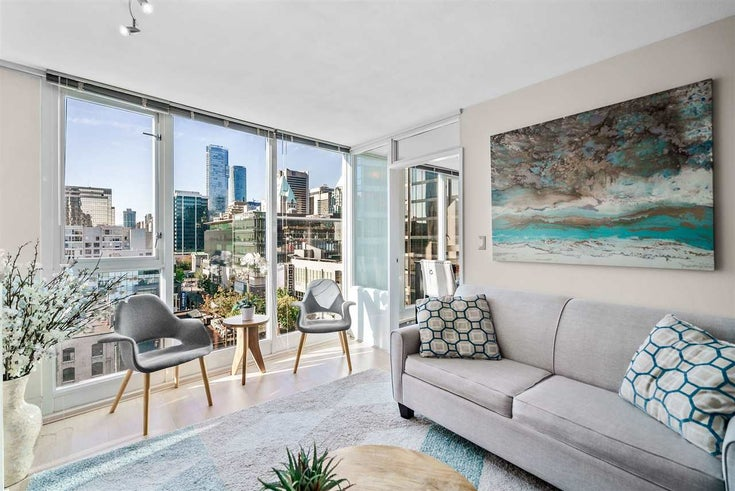 1002 822 SEYMOUR STREET - Downtown VW Apartment/Condo for sale, 1 Bedroom (R2507904)