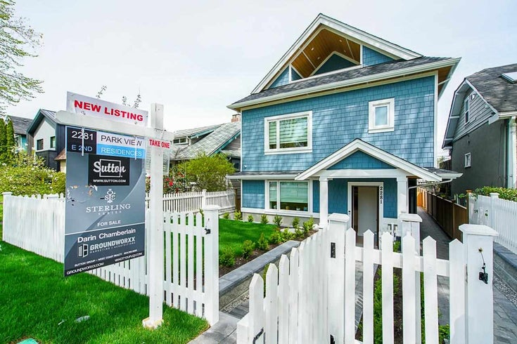 2281 E 2ND AVENUE - Grandview Woodland 1/2 Duplex for sale, 3 Bedrooms (R2580827)
