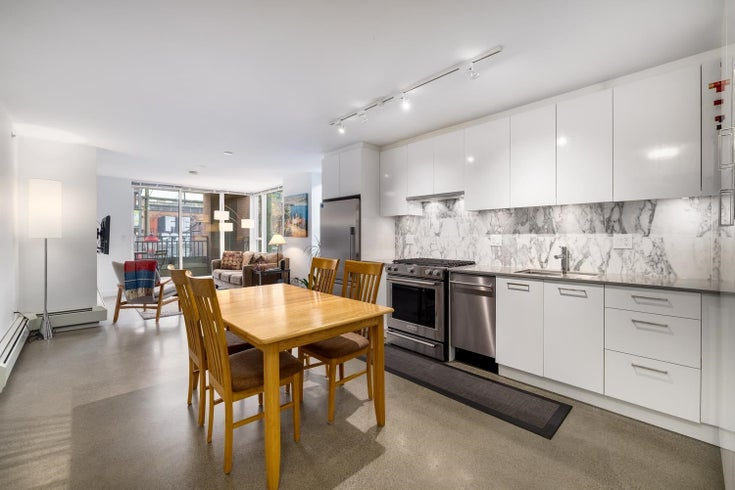 207 231 E PENDER STREET - Downtown VE Apartment/Condo for sale, 2 Bedrooms (R2625636)