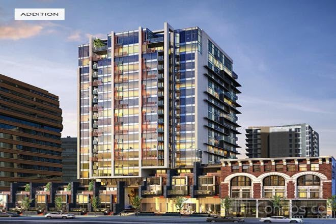 1807 - 1155 Howe Street - Downtown VW Apartment/Condo for sale, 1 Bedroom