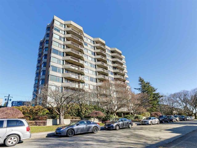 705 2445 W 3RD AVENUE, vancouver bc V6K 4K6 - Kitsilano Apartment/Condo for sale, 1 Bedroom (R2344100)