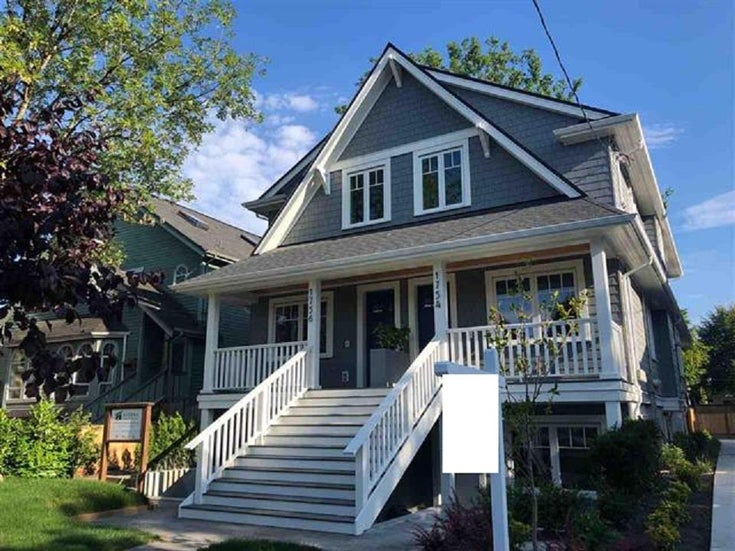 1754 GRAVELEY STREET - Grandview Woodland 1/2 Duplex for sale, 4 Bedrooms (R2472808)