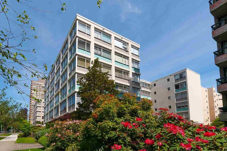 307 1975 PENDRELL STREET - West End VW Apartment/Condo for sale, 1 Bedroom (R2480101)