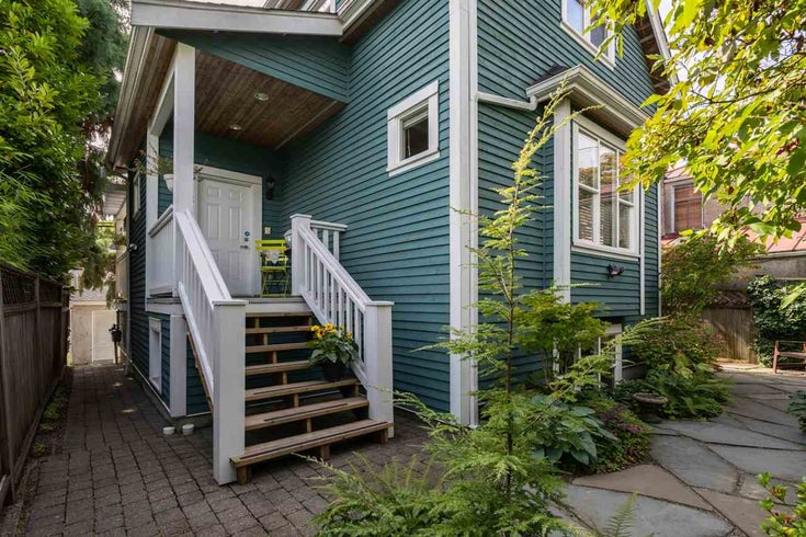 718 UNION STREET - Strathcona Townhouse for sale, 3 Bedrooms (R2502805)