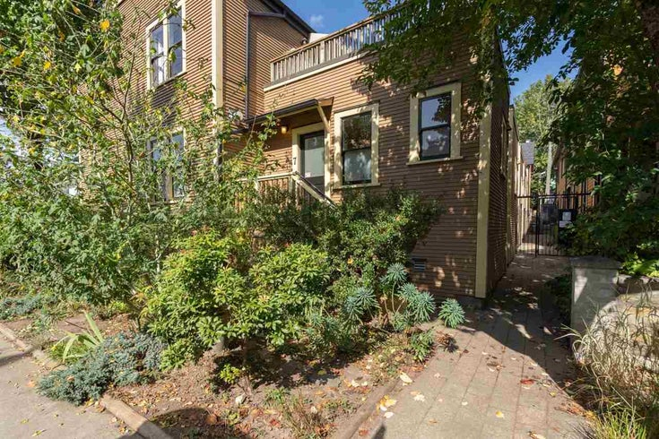 742 JACKSON AVENUE - Strathcona Townhouse for sale, 3 Bedrooms (R2505249)