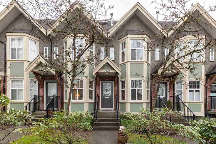 1634 E GEORGIA STREET - Hastings Townhouse for sale, 2 Bedrooms (R2533982)