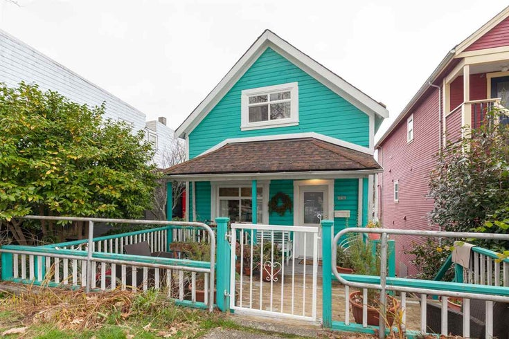 743 KEEFER STREET - Strathcona House/Single Family for sale, 3 Bedrooms (R2537354)