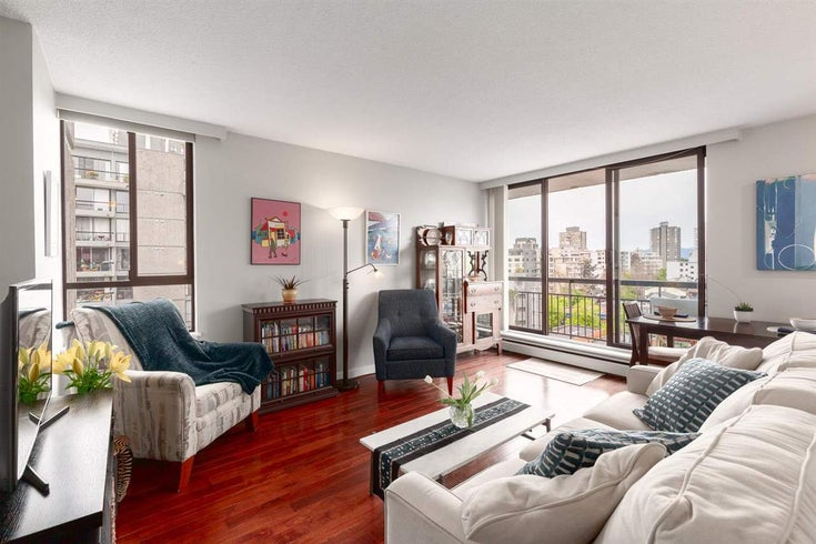 907 1720 BARCLAY STREET - West End VW Apartment/Condo for sale, 1 Bedroom (R2578079)