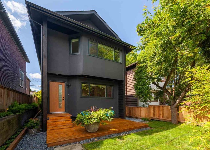608 UNION STREET - Strathcona House/Single Family for sale, 2 Bedrooms (R2590346)