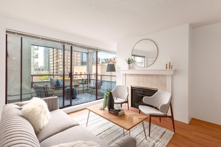 404 1042 NELSON STREET - West End VW Apartment/Condo for sale, 2 Bedrooms (R2597425)