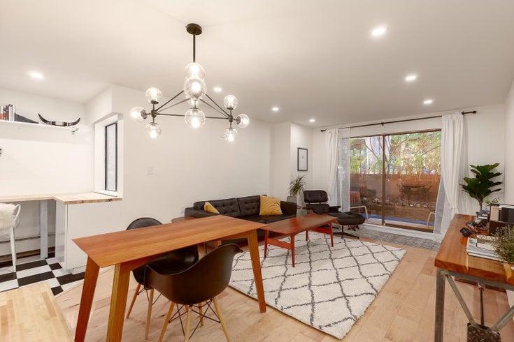 105 1611 E 3RD AVENUE - Grandview Woodland Apartment/Condo for sale, 1 Bedroom (R2607940)