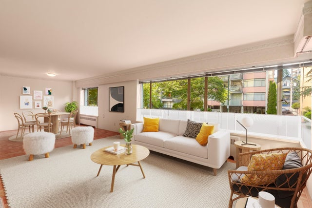 105 1949 BEACH AVENUE - West End VW Apartment/Condo for sale, 2 Bedrooms (R2616994)