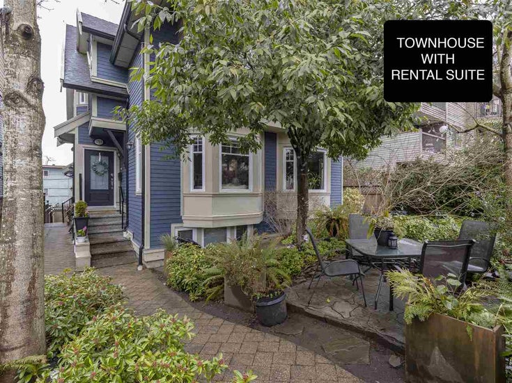 1743 FRANCES STREET - Hastings Townhouse for sale, 3 Bedrooms (R2347531)