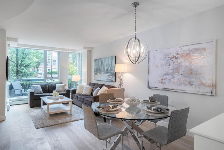 1058 CAMBIE STREET - Yaletown Townhouse for sale, 2 Bedrooms (R2082250)