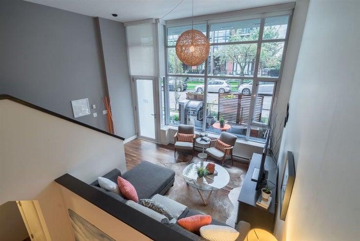 237 7TH AVENUE - Mount Pleasant VE Townhouse for sale, 1 Bedroom (R2115513)