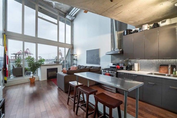 213 289 ALEXANDER STREET  - Hastings Apartment/Condo for sale, 1 Bedroom (R2133140)