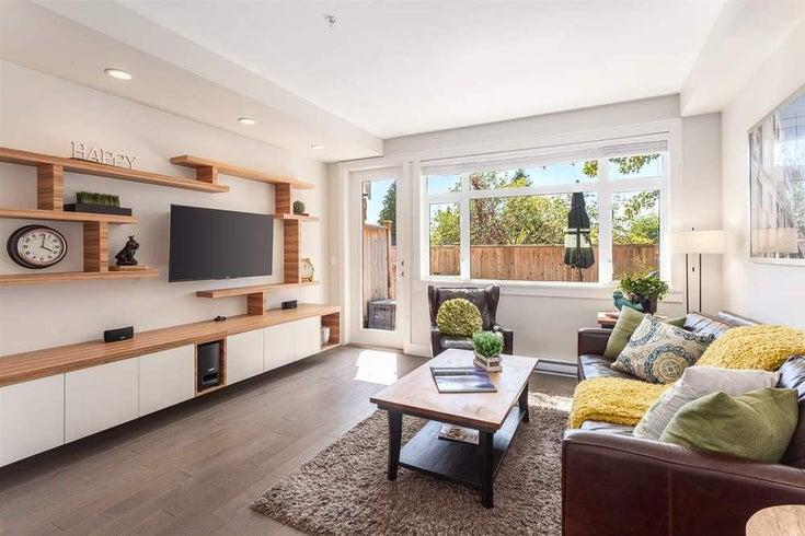 5735 ST. GEORGE STREET - Fraser VE Townhouse for sale, 3 Bedrooms (R2093557)