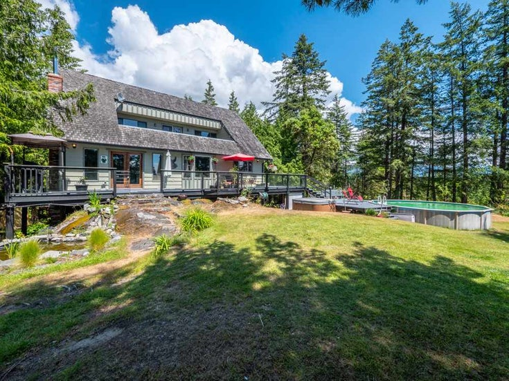 6801 NORWEST BAY ROAD - Sechelt District House with Acreage for sale, 3 Bedrooms (R2260668)