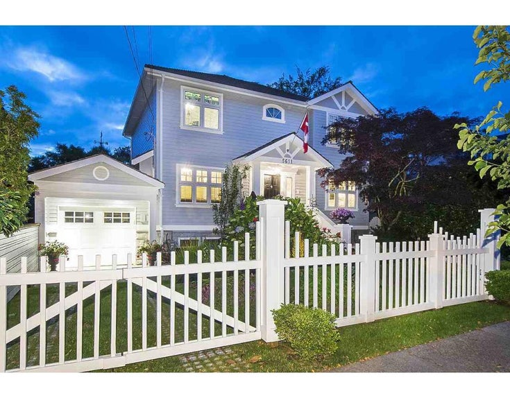 5611 TRAFALGAR STREET - Kerrisdale House/Single Family for sale, 4 Bedrooms (R2284217)