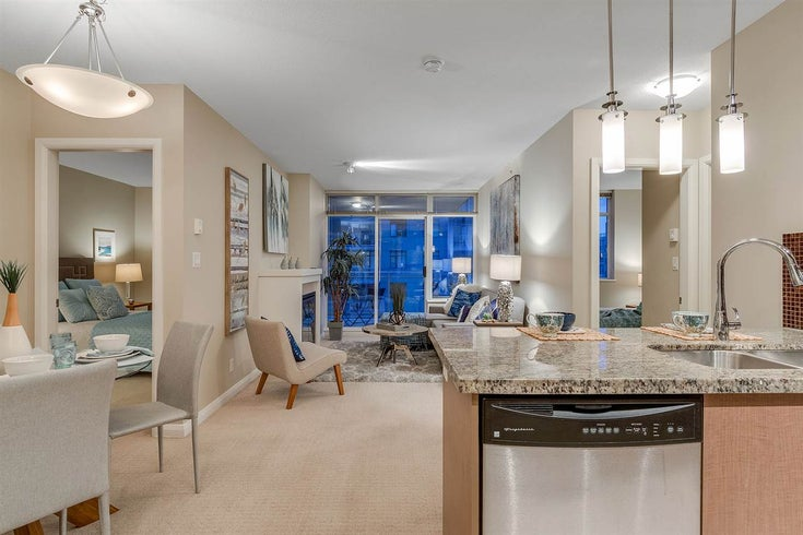 1609 888 CARNARVON STREET - Downtown NW Apartment/Condo for sale, 2 Bedrooms (R2244389)