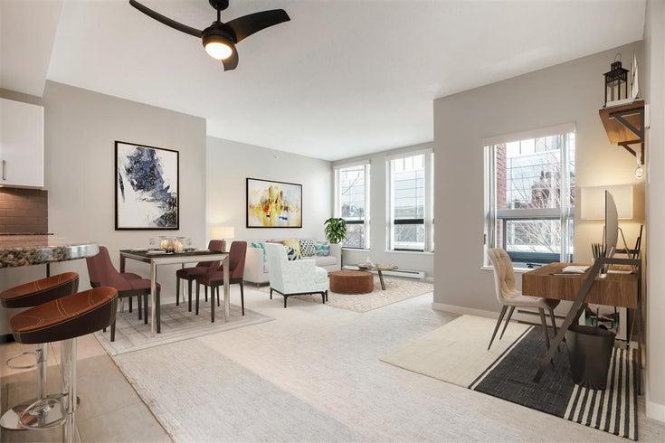 202 14 BEGBIE STREET - Quay Apartment/Condo for sale, 1 Bedroom (R2544410)