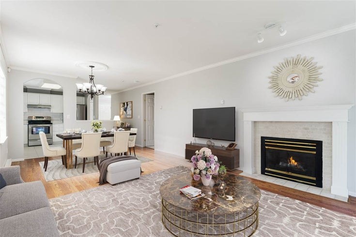 #107 1550 FELL AVENUE - Mosquito Creek Apartment/Condo for sale, 2 Bedrooms (R2551552)