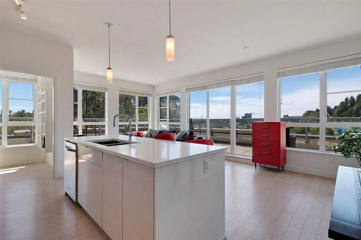 505 1621 Hamilton Avenue, North Vancouver - Mosquito Creek Apartment/Condo for sale, 2 Bedrooms (R2407129)