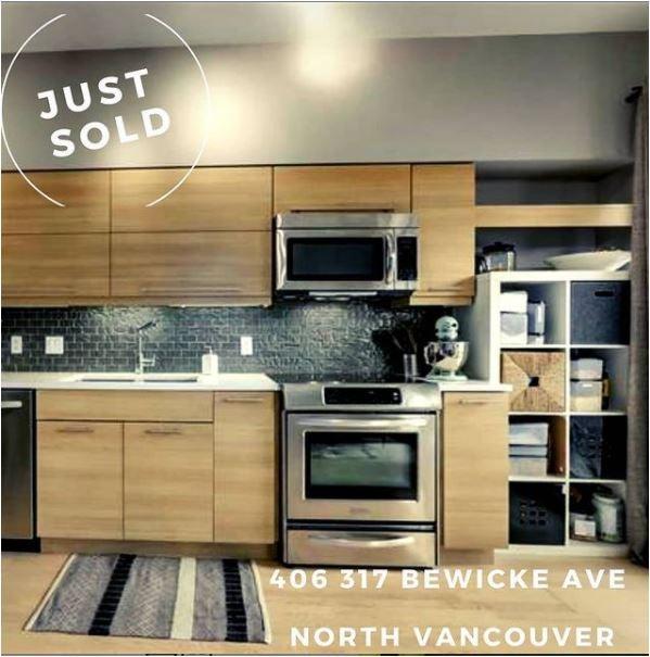 406 317 Bewicke Avenue, North Vancouver,  - Mosquito Creek Apartment/Condo for sale, 1 Bedroom