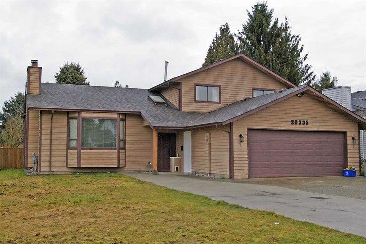 20335 DALE DRIVE - Southwest Maple Ridge House/Single Family for sale, 3 Bedrooms (R2389295)
