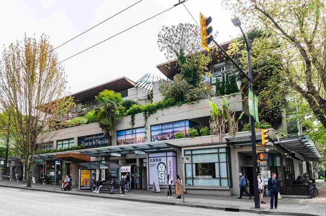 205 1688 Robson St, Vancouver, BC - West End VW Apartment/Condo for sale, 1 Bedroom